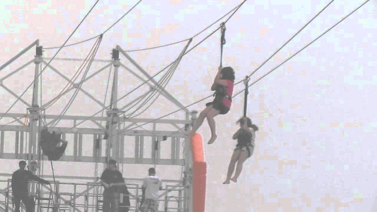 Lanee Katelyn On Worlds Longest Beach Zip Line Panama City