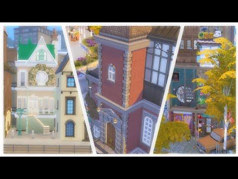 1 TERRAIN 3 AMBIANCES ! // Sims 4 - speed build (no cc) histoire + blabla pack écologie