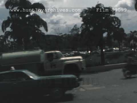 Roads in Caracas, 1970's - Film 99099