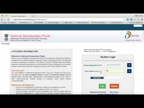 How to Check Scholarship Status Central Government Minority MOMA Scholarship 2016