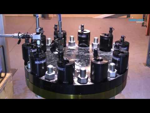 Boltight - Hydraulic tensioners for compact flanges