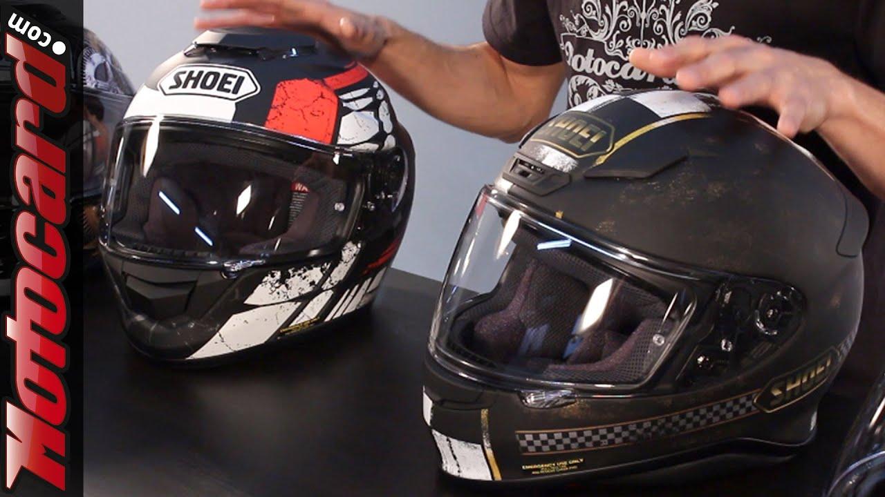 e7ef4f4d Comparative Shoei helmets: NXR vs GT-Air · Motocard