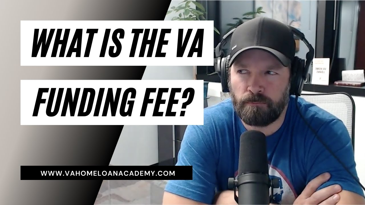 All about the VA Funding Fee...