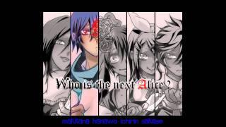 Alice Human Sacrifice lyrics - MEIKO, KAITO, Miku Hatsune, Rin & Len Kagamine{MP3 Download}