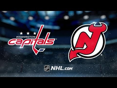 Washington Capitals Vs. New Jersey Devils | NHL Game Recap | October 13, 2017 | HD