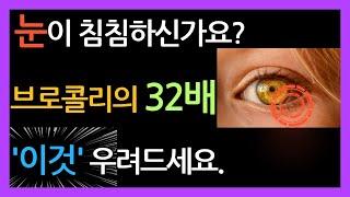 눈건강 영양제인 루테인효능과 눈에좋은음식