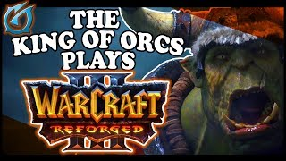Grubby | The King of Orcs Plays: Warcraft 3 REFORGED at Blizzcon 2018!