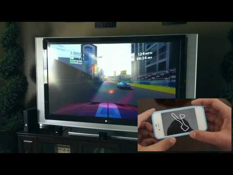 AirPlay Mirroring Performance W/ IPhone 4S | Playing Real Racing 2