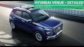 HYUNDAI VENUE Comparison in Variants - Detailed Review
