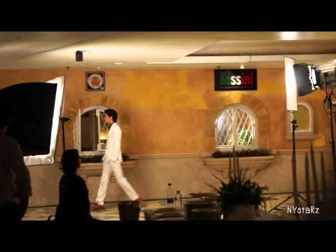 120208  Changmin Missha CF shooting at Royal Cliff Grand Hotel