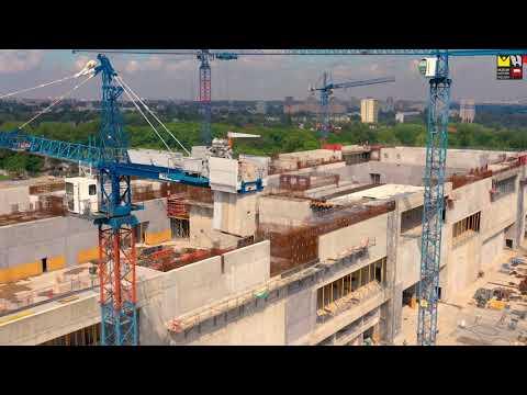 Budowa Muzeum Historii Polski na Cytadeli Warszawskiej (Maj 2020)