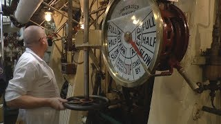Ship Engine Room - Triple Expansion Steam Engines - 'SS Shieldhall'