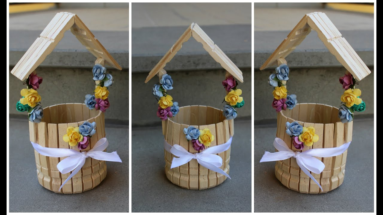 Pozzo Dei Desideri Con Le Mollette The Wishing Well With Clothespins