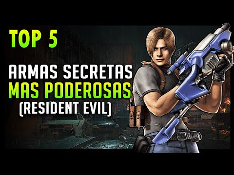 top-5:-armas-secretas-mas-potentes-de-resident-evil