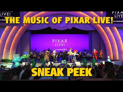 The Music of Pixar LIVE! Sneak Peek | Walt Disney World