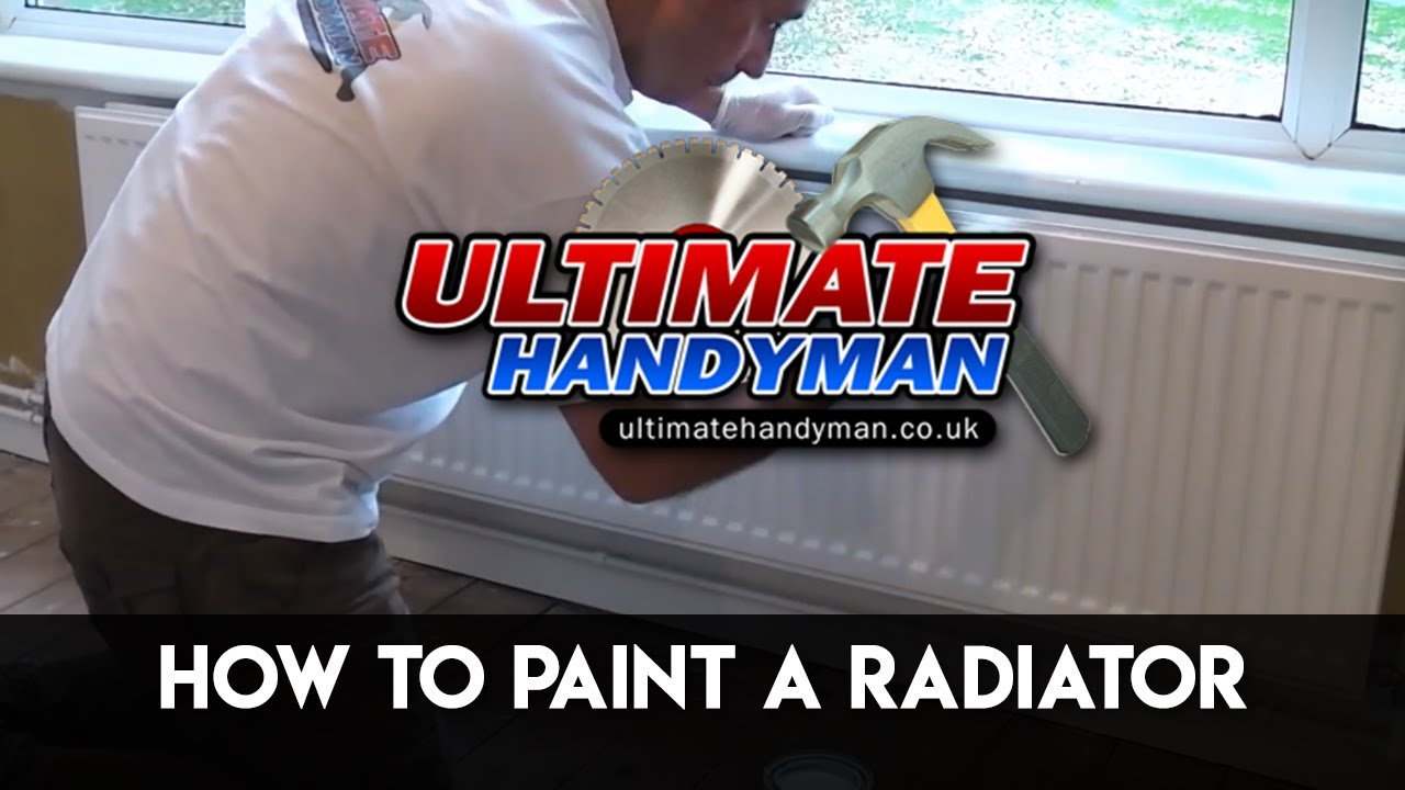 How To Paint A Radiator Youtube