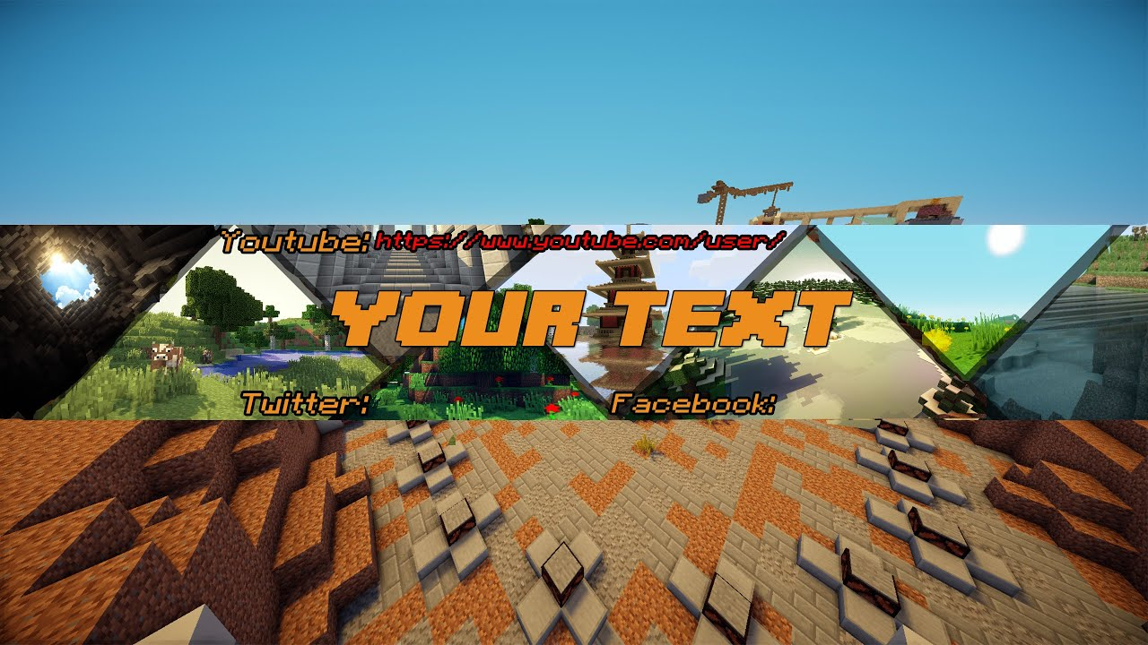 Minecraft free youtube channel art template photoshop cs6cc minecraft free youtube channel art template photoshop cs6cc d youtube pronofoot35fo Images