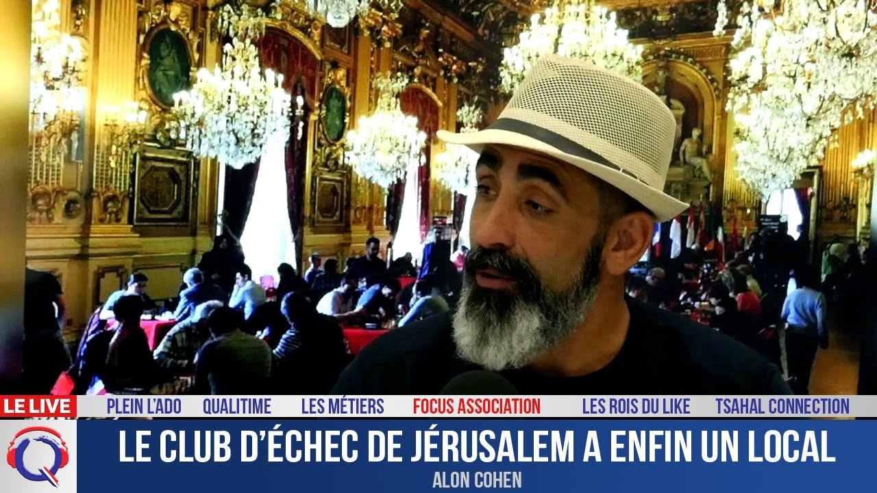 Le club d'échec de Jérusalem a un local - Focus#429
