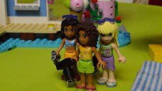 Игра ЛЕГО ФРЕНДС. ЛЕТНЕЕ КАФЕ.LEGO FRIENDS ! Детский канал Расти вместе с нами