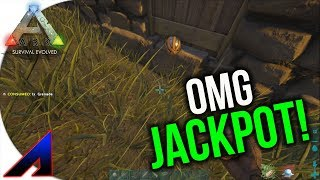 Jackpot! | Solo New Official PvP Servers | ARK: Survival Evolved | Ep 13