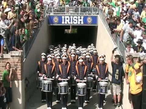 Notre Dame Band: Takes the Field