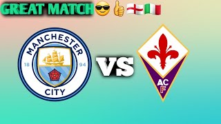 PES MANCHESTER CITY VS FIORENTINA UCL youtubeAM