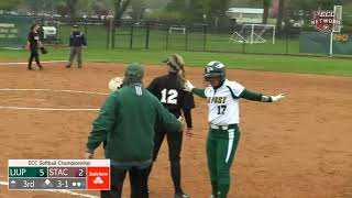 LIU Post Softball vs. STAC Highlights (ECC Championship 2019)
