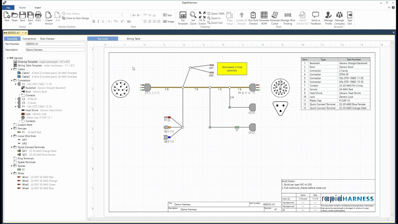 automotive wiring diagram drawing software rapidharness tutorial designing harnesses youtube  rapidharness tutorial designing