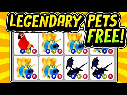 Free Legendary Pets Hack In Adopt Me How To Get Free Pets August 2020 Roblox Youtube