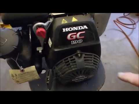 A New Honda Motor for a Pressure Washer Pt 1
