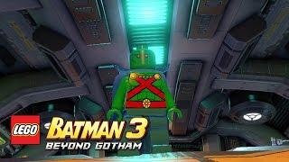 LEGO Batman 3: Beyond Gotham - Martian Manhunter Moon Base free roam