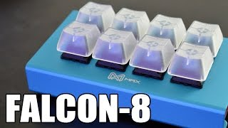 Max Keyboard Falcon-8 Review - Mini Macropad Mechanical Keyboard