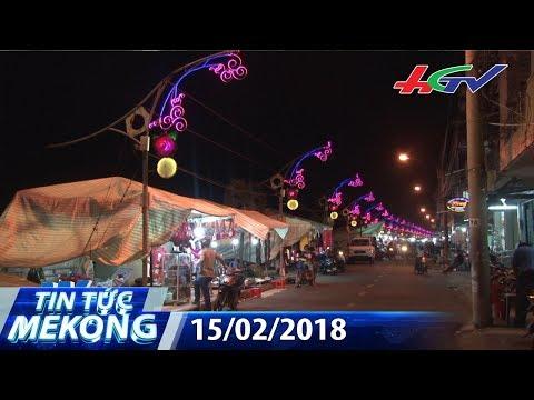 Lần đầu có phố đi bộ ở làng hoa Sa Đéc vào dịp Tết   TIN TỨC MEKONG - 15/02/2018