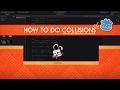 How to make collisions work - Godot 2 tu