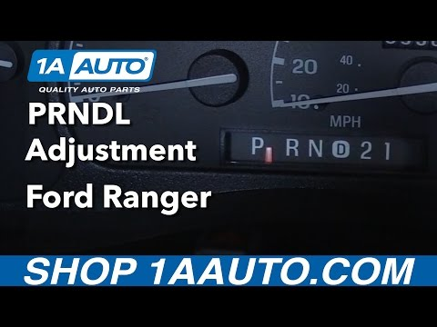 How to Adjust Shift Indicator 98-12 Ford Ranger Explorer F Series