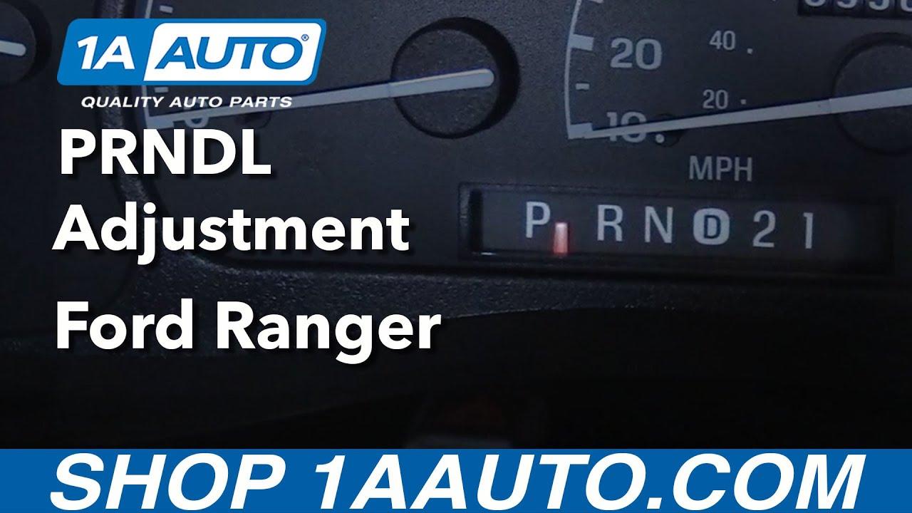 How to Adjust Shift Indicator 98-12 Ford Ranger Explorer F Series