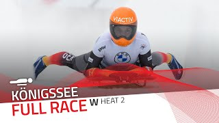 Königssee | BMW IBSF World Cup 2020/2021 - Women's Skeleton Heat 2 | IBSF Official
