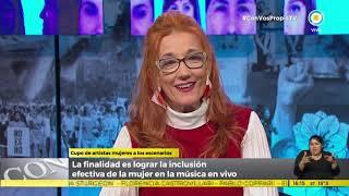 Celsa Mel Gowland habla del cupo femenino en Festivales | #ConVosPropiaTV