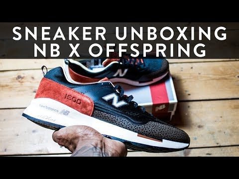 12a0a9a8d8c1b New Balance 1500 NB X Offspring 20th Anniversary | Sneaker Unboxing | The  New Collections | Llomotes - YouTube