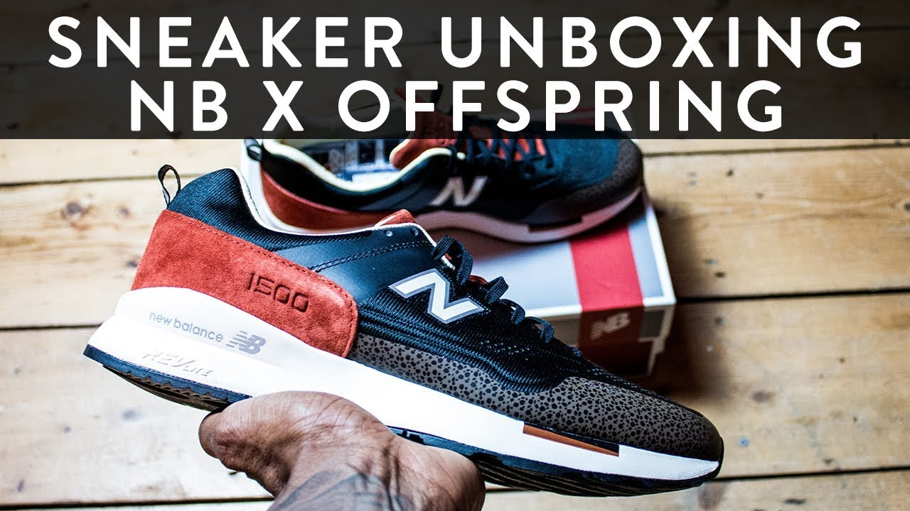 c09b276ae88e9 New Balance 1500 NB X Offspring 20th Anniversary | Sneaker Unboxing | The  New Collections | Llomotes