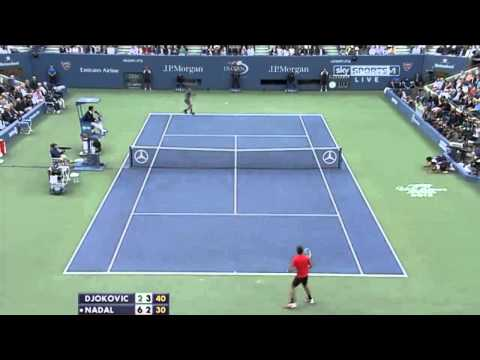 The best point ever - Djokovic vs Nadal (54 rally) US Open Final 2013 | 6-2 3-6 6-4 6-1 HD