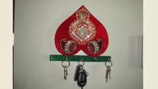 How To Make A Key Holder