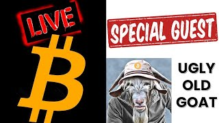 🔥 SAVY LIVE WITH UGLY OLD GOAT🔥bitcoin litecoin price prediction, analysis, news, trading