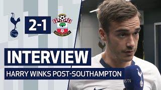 INTERVIEW | HARRY WINKS ON SOUTHAMPTON VICTORY | Spurs 2-1 Southampton