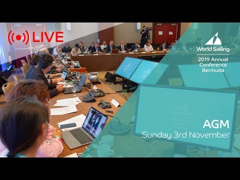 AGM | LIVE | World Sailing Annual Conference: Bermuda 2019