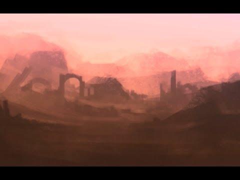 Photoshop Speedpaint – Landscape Concept Sketch
