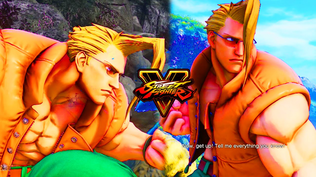 The Best Character In Street Fighter 5 Street Fighter 5 Nash