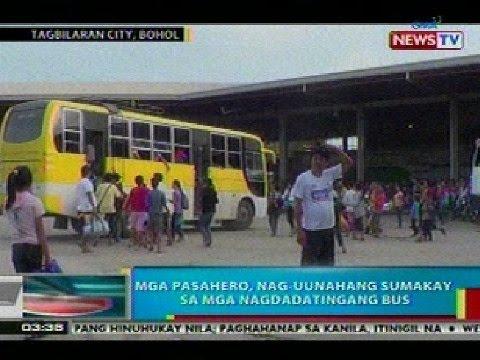 BP: Mga masasakyang bus sa Bohol, nagkakaubusan na