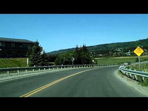 The Scenic Drive out Homer Spit, Homer, Kachemak Bay Alaska