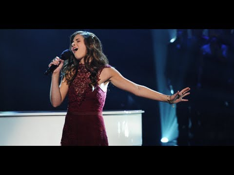 "Carly Rose Sonenclar ""Imagine"" - Live Week 7: Semifinal - The X Factor USA 2012"